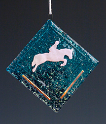 Equine Jumper Ornament