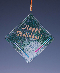 Happy Holidays Ornament