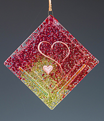 Two Heart Ornament